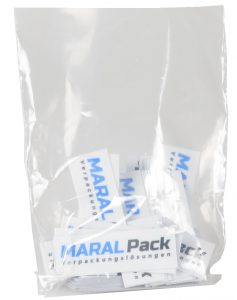Flachbeutel PE-Beutel transparent 50 my Sack Tasche