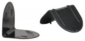Kantenschutzwinkel Ecken Kunststoffecken Kunstoffkanten mit Dorn ohne Dorn schwarz