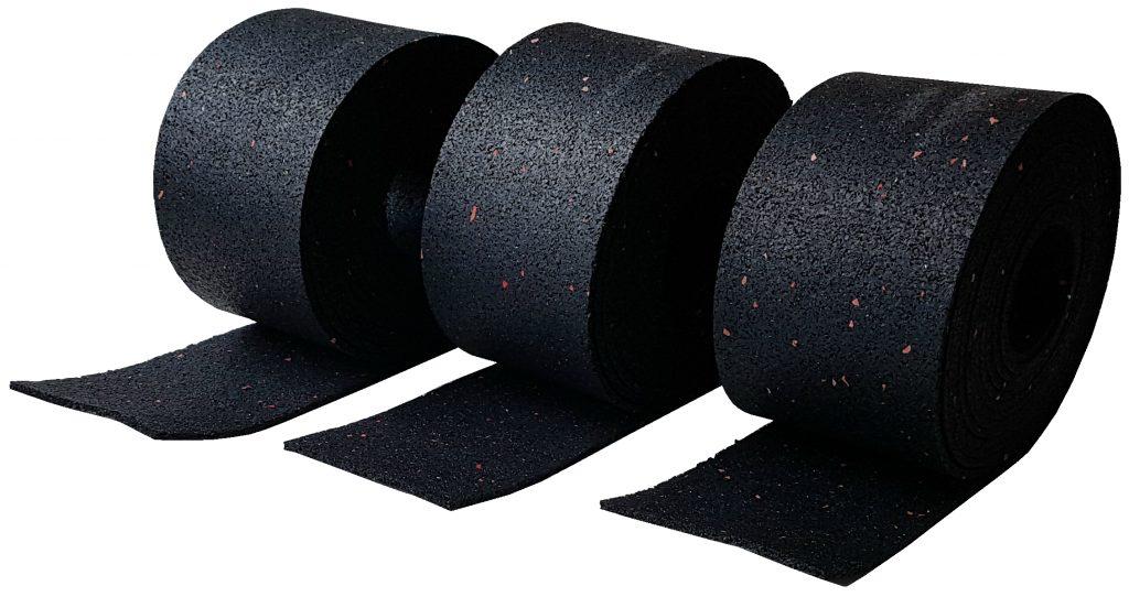 Antirutschmatte Gummi Gummimatte Antirutsch Kautschuk schwarz
