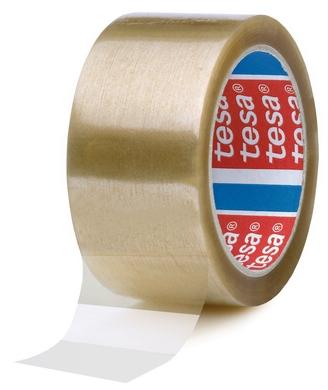 tesa_04024 Band Klebeband kleben Folie Packen einpacken zukleben zuschnüren tapen 4089 transparent braun