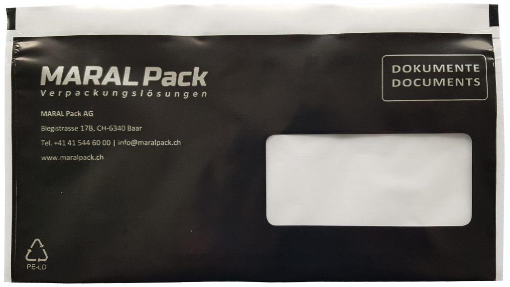 Dokumententasche MARAL Pack schwarz